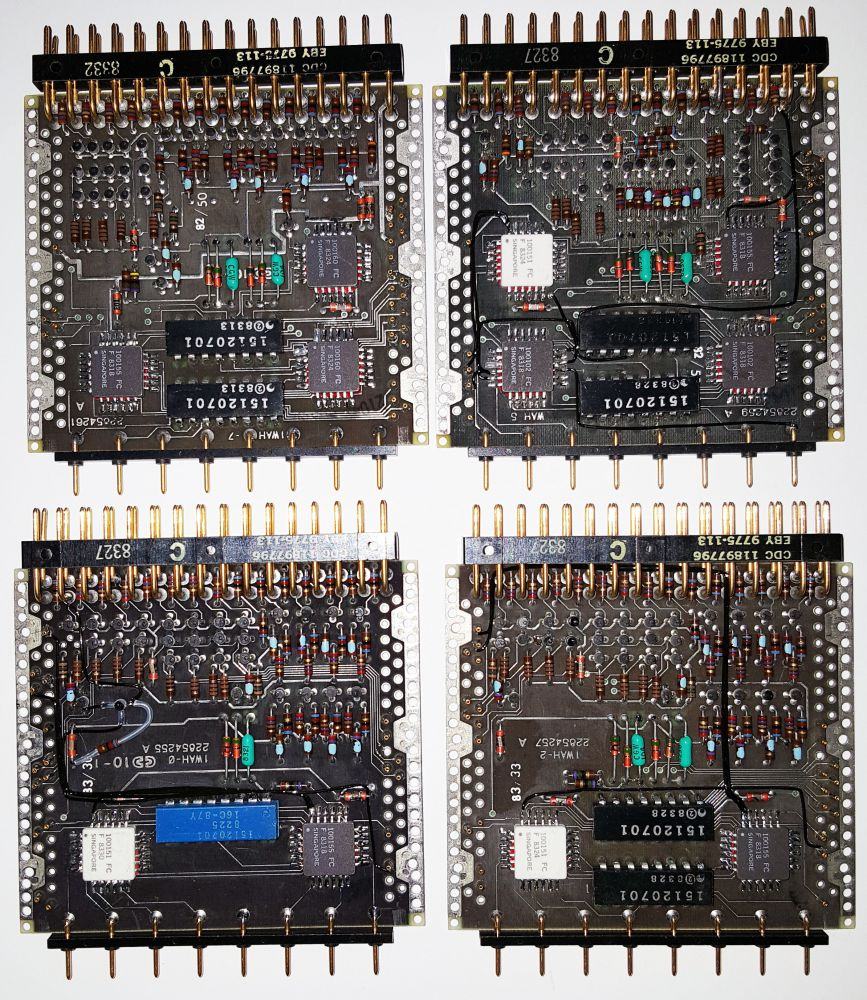 Cdc 7600 Mark Smotherman Used Circuit Boards Recovery Machine Buy 6600