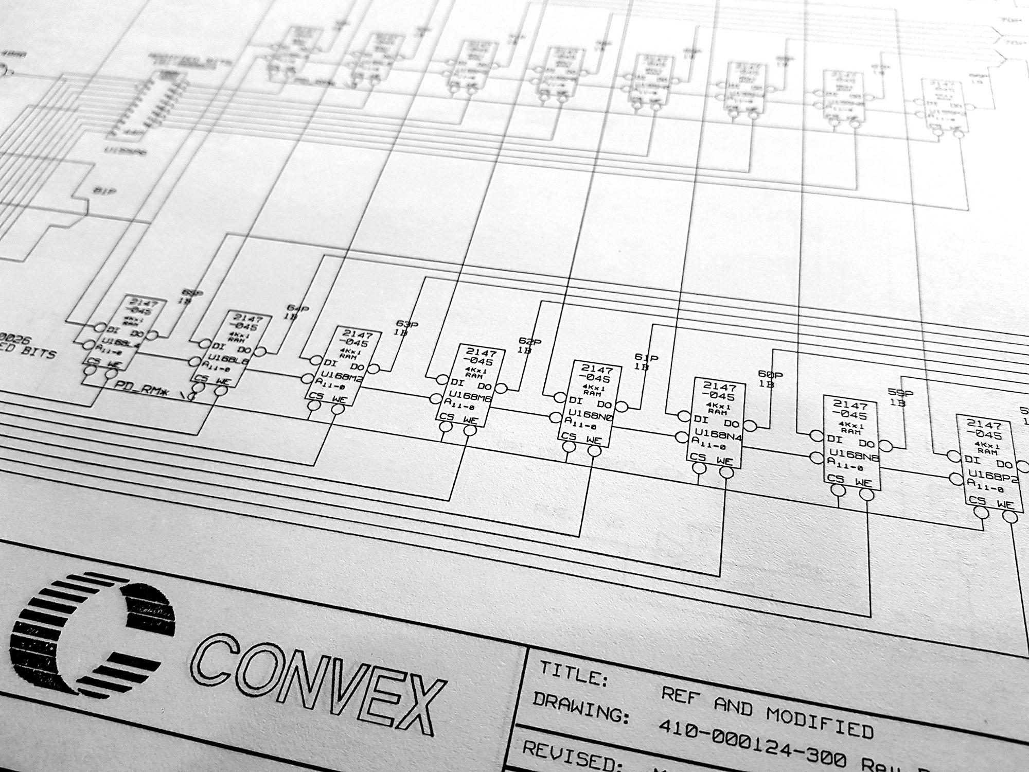 Convex C1 Schematics Online - VAXBARN